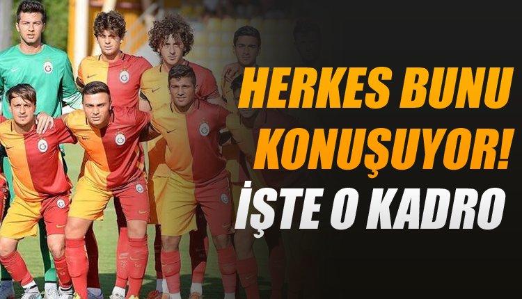 Galatasaray'da herkes bunu konuşuyor!