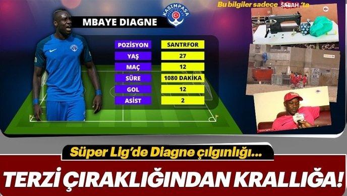 Süper Lig'de Mbaye Diagne çılgınlığı! Terzi çıraklığından krallığa