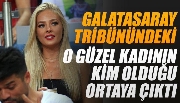 'Çok merak ediliyordu! Galatasaray tribünlerindeki o kişinin kim olduğu ortaya çıktı