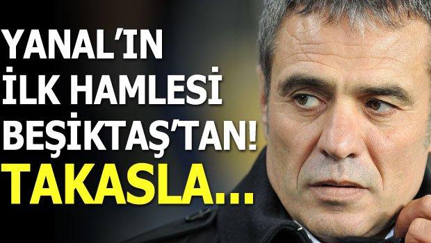 Ersun Yanal'ın transferde ilk hamlesi Beşiktaş'tan