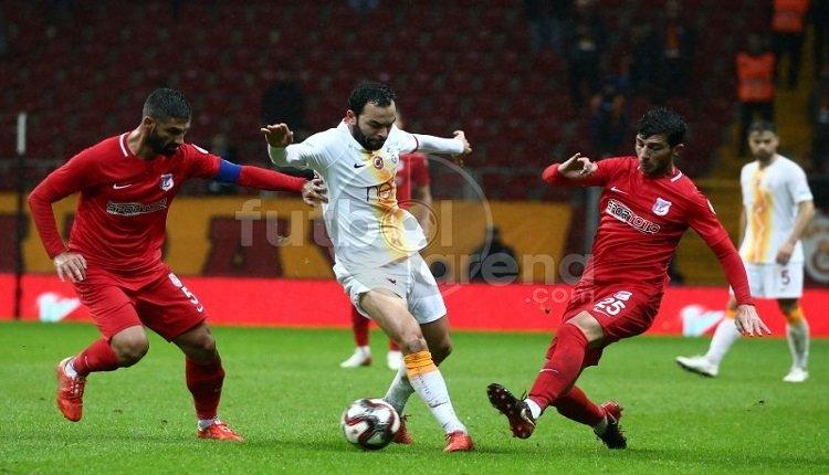 Keçiörengücü futbolcusundan Galatasaray maçı hakemine olay sözler! \