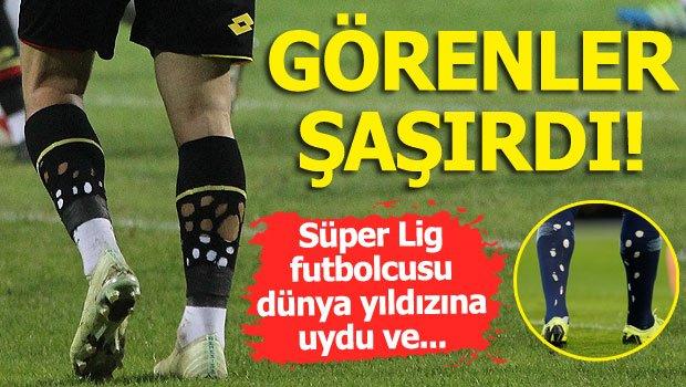 Süper Lig futbolcusu herkesi şaşırttı!