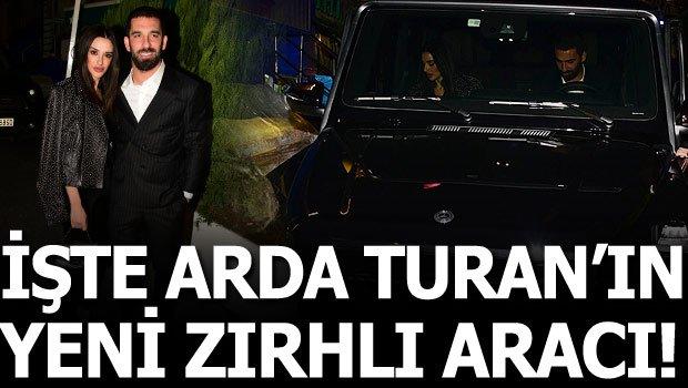Arda Turan'ın aracını görenler inanamadı