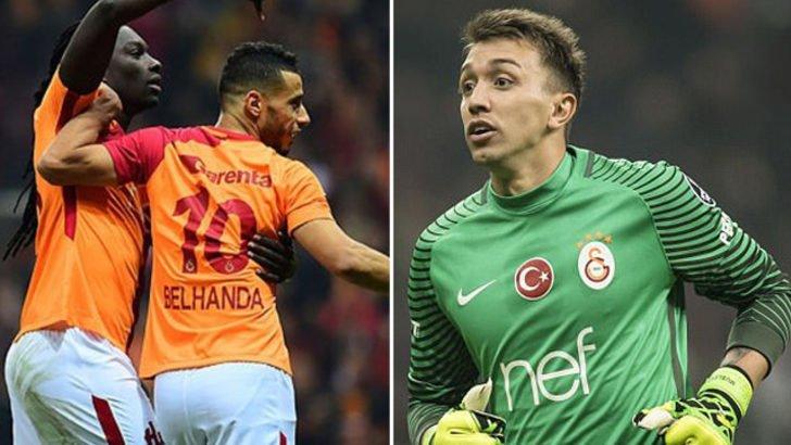 'Galatasaray'ın Boluspor maçı kadrosunda Muslera ve Belhanda sürprizi