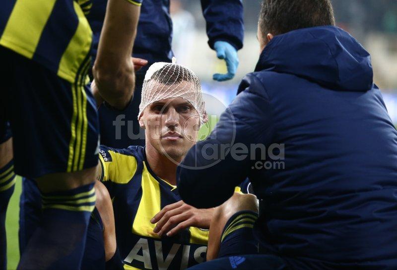 Skrtel korkuttu! Bursaspor - Fenerbahçe maçında olaylı anlar