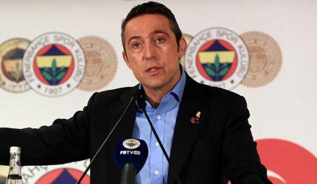 'Fenerbahçe'den son dakika açıklaması! Ali Koç'tan sert tepki