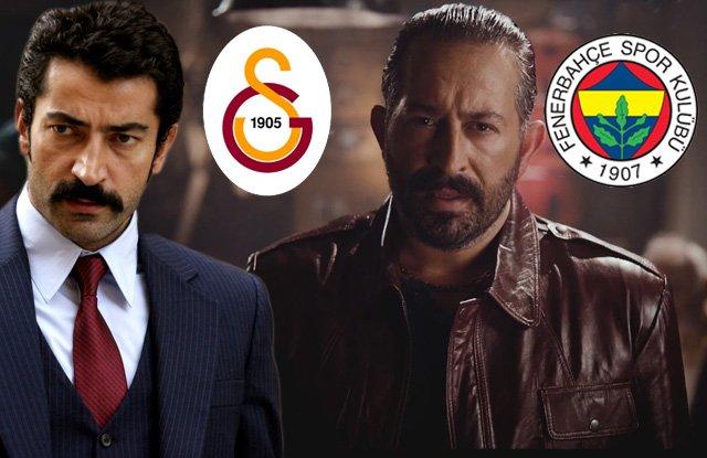 'Fenerbahçe ve Galatasaraylı ünlü isimler