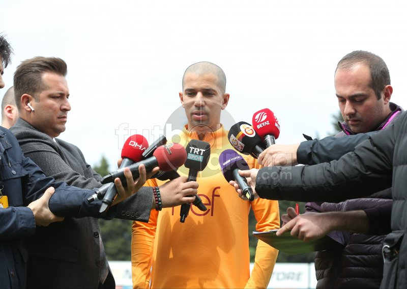 FutbolArena, Galatasaray antrenmanında (17 Mayıs 2019)
