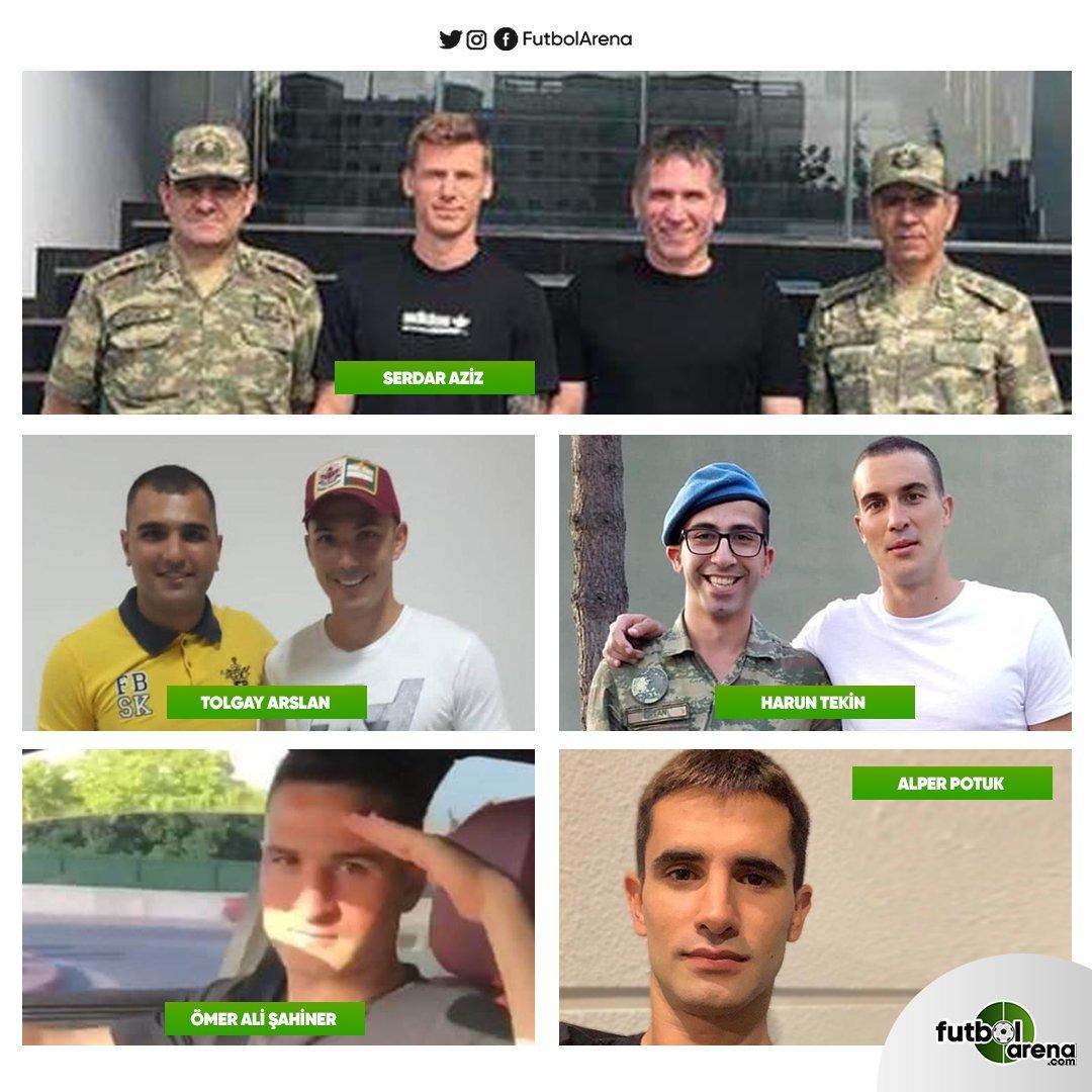 <h2>Bedelli askerlik yapan futbolcular</h2>