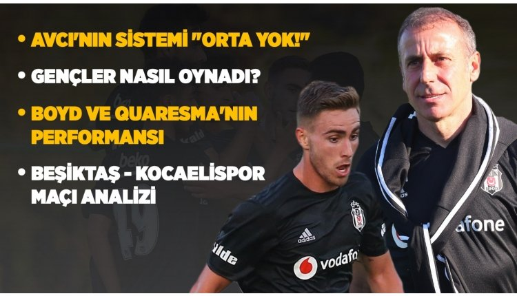 <h2>Abdullah Avcı'nın Beşiktaş'taki taktiği</h2>