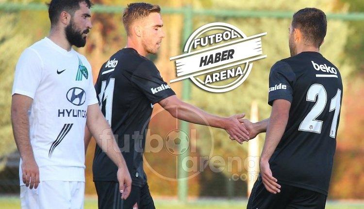 <h2>Beşiktaş 7-1 Kocelispor hazırlık maçı özeti ve golleri</h2>