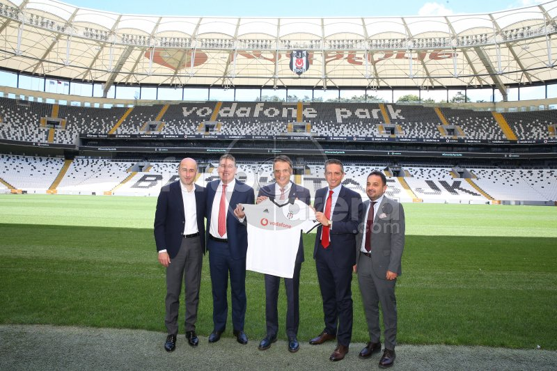 FutbolArena, Beşiktaş'ın sponsorluk töreninde (16 Temmuz 2019)