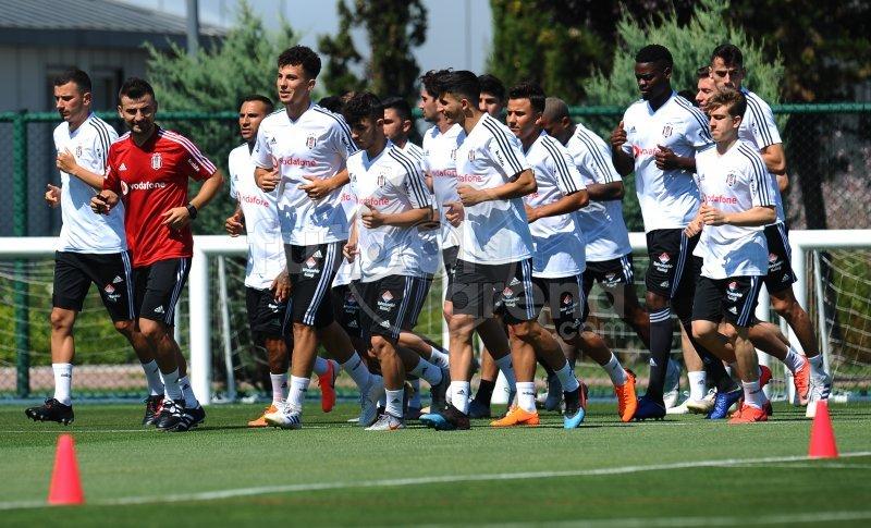 'FutbolArena, Beşiktaş antrenmanında (9 Temmuz 2018)