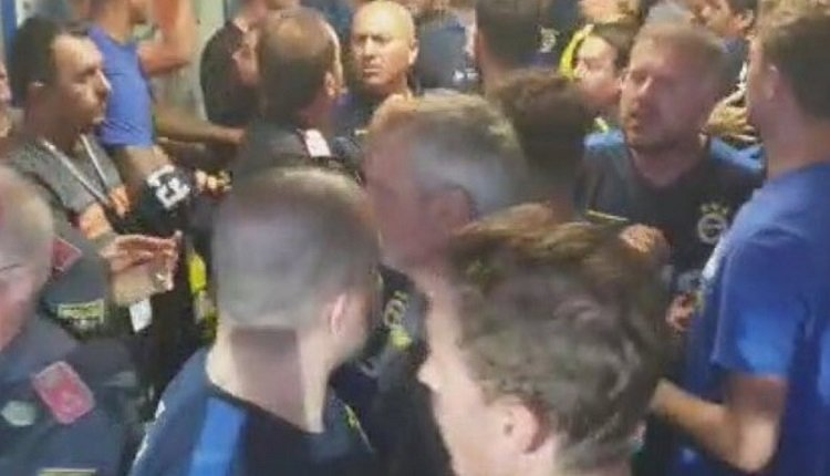 <h2>Hertha Berlin - Fenerbahçe maçından sonra olay</h2>