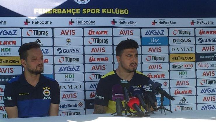 <h2>Ozan Tufan'dan Fenerbahçe açıklaması</h2>