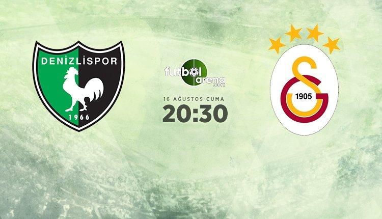 <h2>Denizlispor - Galatasaray maçı muhtemel ilk 11'leri</h2>