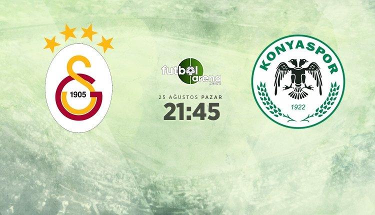 <h2>Galatasaray - Konyaspor maçı muhtemel ilk 11'leri</h2>