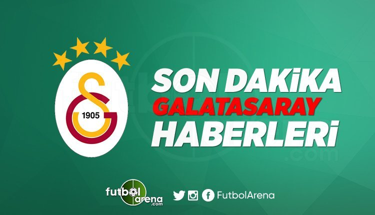 'Galatasaray Transfer Haberleri 2019 (29 Ağustos Perşembe)