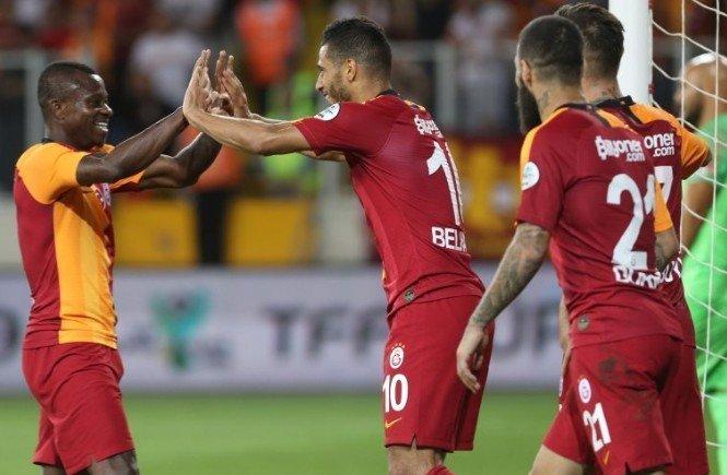 <h2>Galatasaray'ın Fiorentina maçı ilk 11'i</h2>