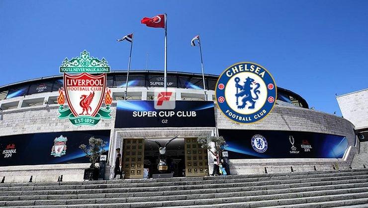 <h2>Liverpool - Chelsea Süper Kupa finali öncesi skandal görüntüler</h2>