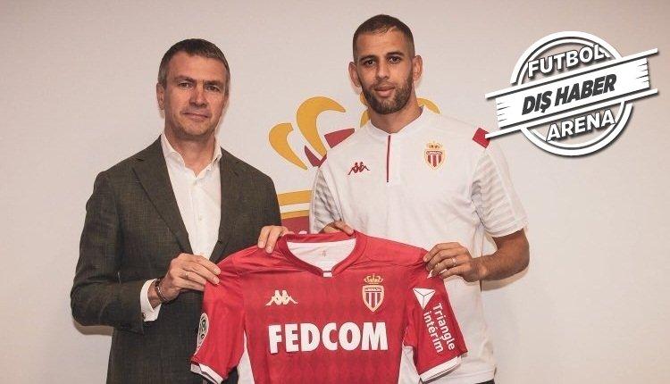 <h2>Slimani, Monaco ile anlaştı</h2>