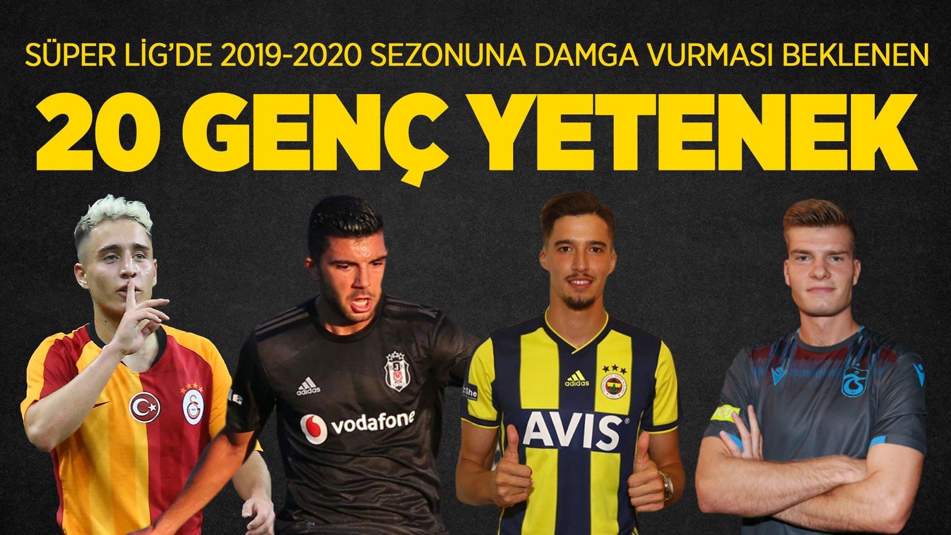 'Süper Lig'e damga vurabilecek 20 genç futbolcu