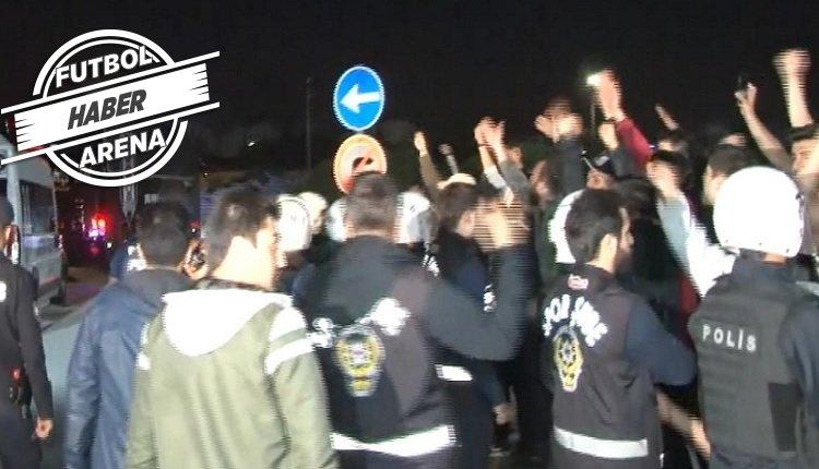 <h2>Beşiktaş taraftarından protesto!</h2>