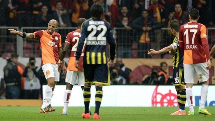 <h2>Felipe Melo'dan Galatasaray'a gönderme</h2>