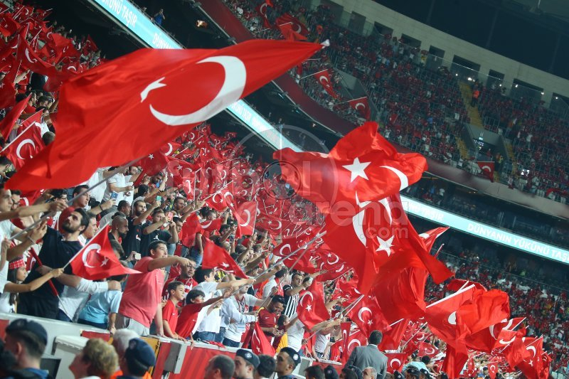 FutbolArena Türkiye - Andorra maçında