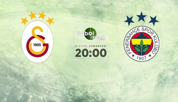 <h2>Galatasaray - Fenerbahçe derbisi muhtemel 11'ler</h2>