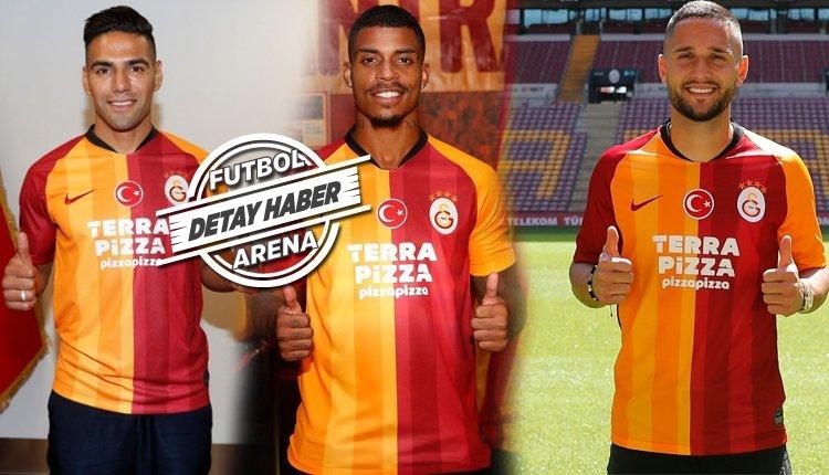 <h2>Galatasaray'ın 2019-2020 sezonu transferleri</h2>