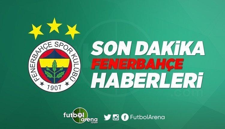 Son Dakika Fenerbahçe Haberleri (15 Ekim 2019)