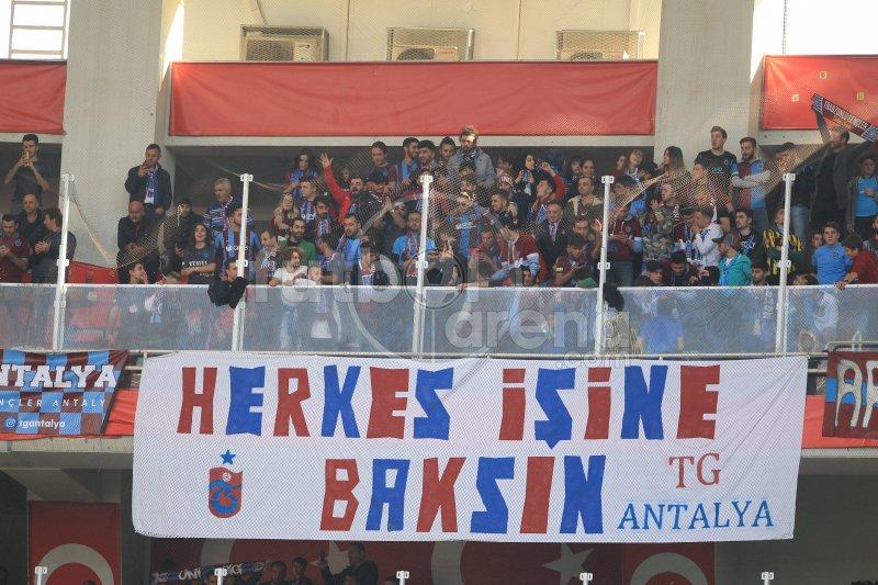 FutbolArena Antalyaspor - Trabzonspor maçında