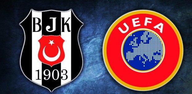 <h2>UEFA'DAN BEŞİKTAŞ'A UYARI</h2>