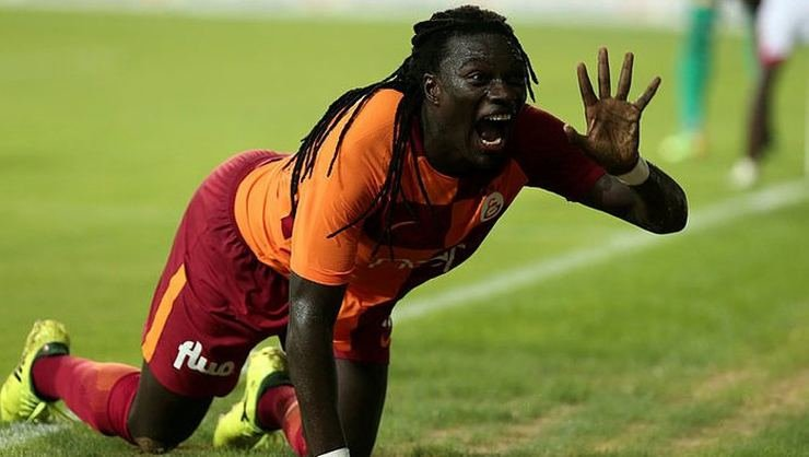 <h2>Bafetimbi Gomis'ten Galatasaray'a müjde!</h2>