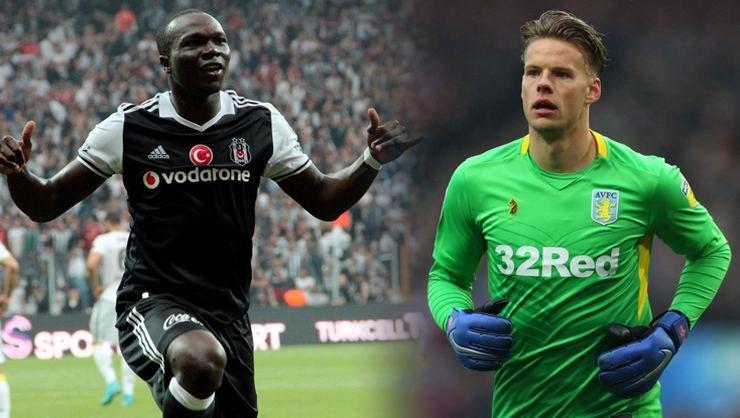 <h2>Beşiktaş'ta tansfer listesine iki isim daha eklendi: Aboubakar ve Nyland</h2>