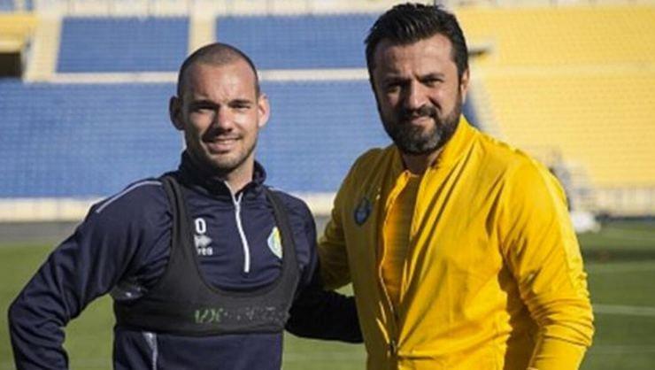 <h2>Sneijder'in hedefi Galatasaray'da teknik direktör olmak</h2>