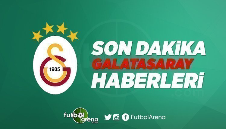 'Son Dakika Galatasaray Haberleri (21 Nisan 2020)