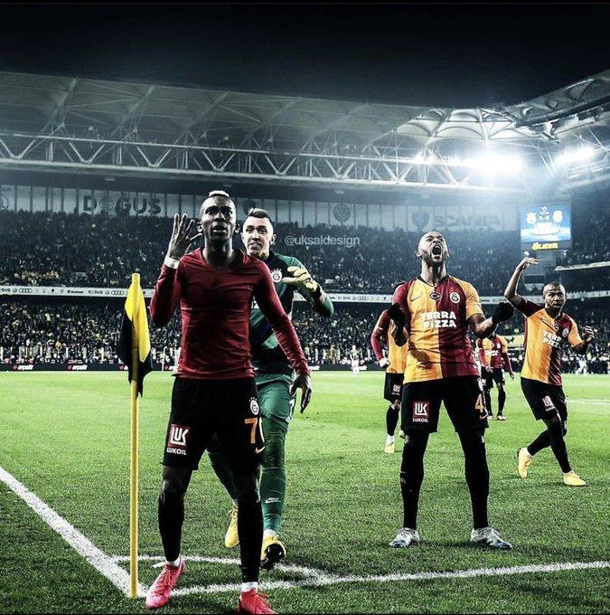<h2>Galatasaraylı futbolcu Henry Onyekuru'dan flaş gönderme!</h2>