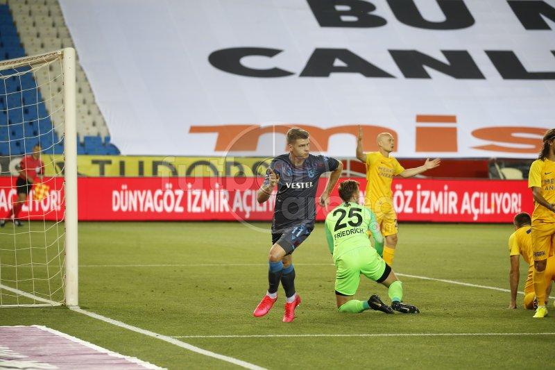 FutbolArena Trabzonspor - Ankaragücü maçında