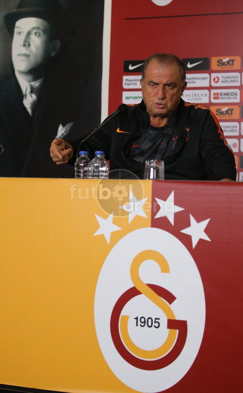 FutbolArena Galatasaray antrenmanında
