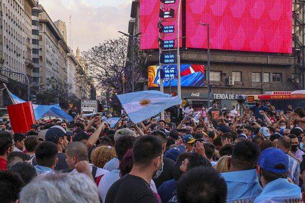 Arjantin halkı, Maradona için sokaklara döküldü