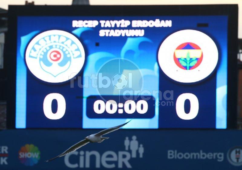 'FutbolArena Kasımpaşa - Fenerbahçe maçında