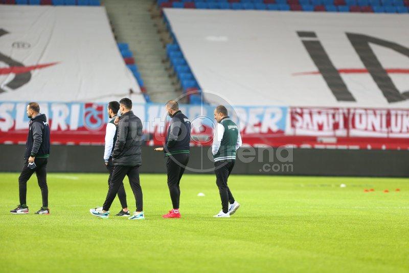 FutbolArena Trabzonspor - Konyaspor maçında