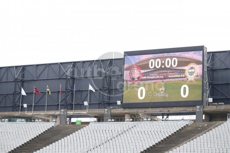 'FutbolArena Fatih Karagümrük - Fenerbahçe maçında