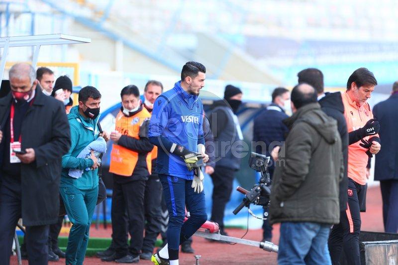 'FutbolArena, Erzurumspor - Trabzonspor maçında (14 Mart 2021)