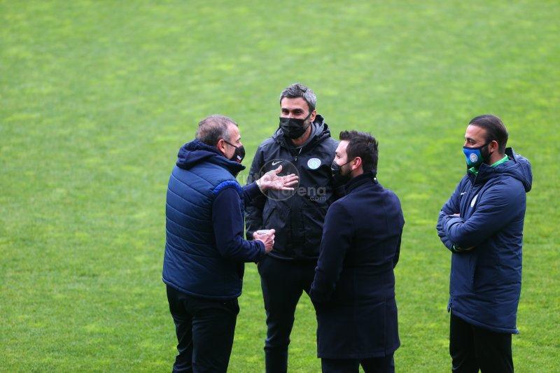 FutbolArena, Rizespor - Trabzonspor maçında (10 Nisan 2021)