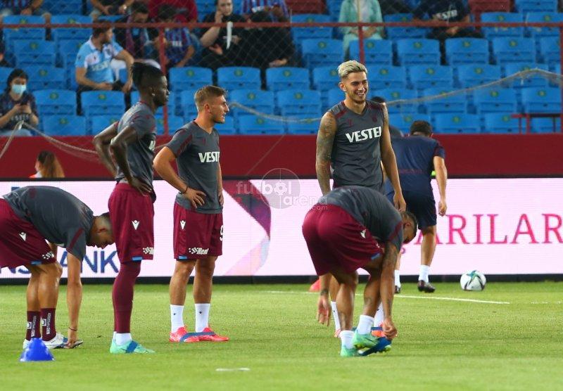 'FutbolArena Trabzonspor - Molde maçında