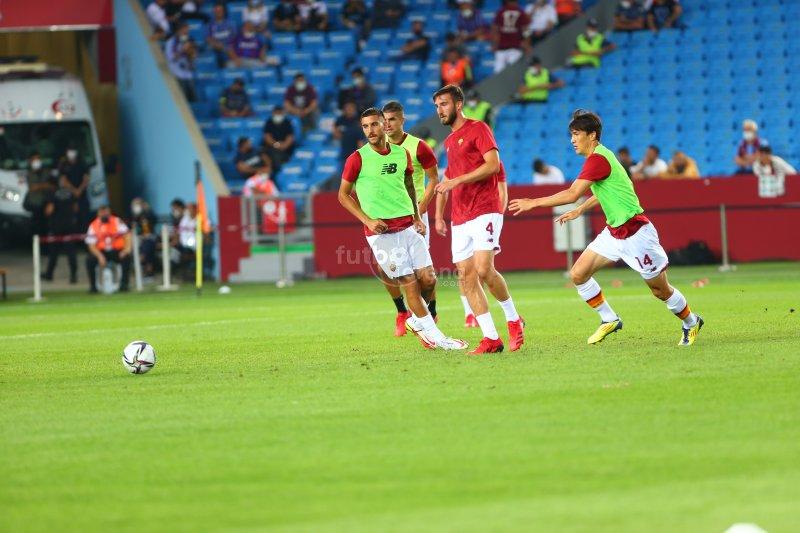 'FutbolArena Trabzonspor - Roma maçında