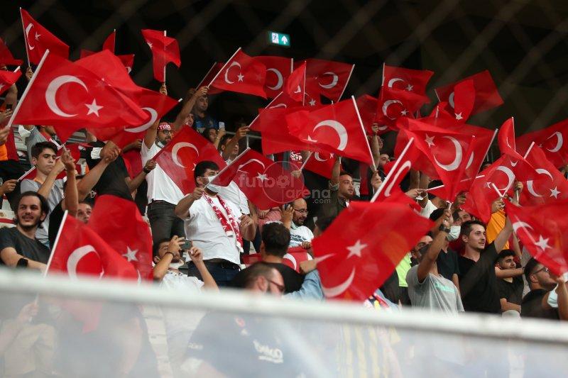 FutbolArena Türkiye - Karadağ maçında
